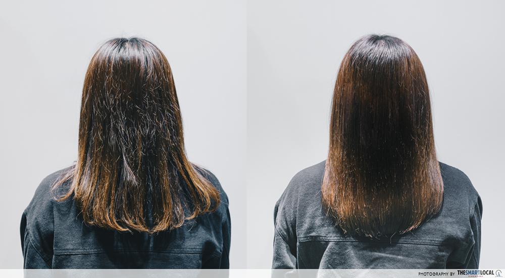 Hair Salon Tokyo Michaela Singapore Treatment Before After