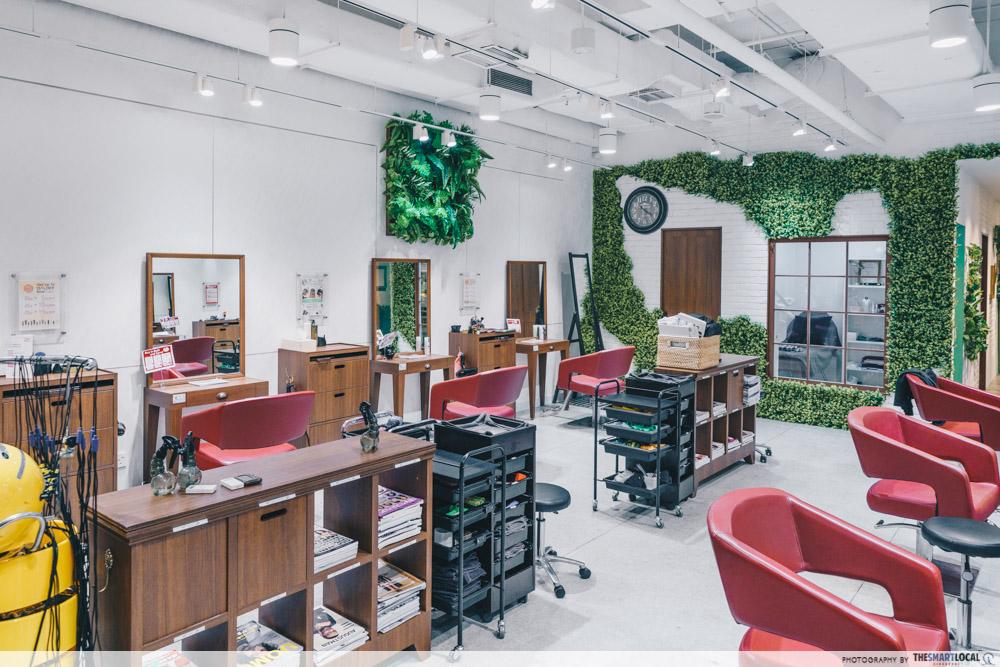 Hair Salon Tokyo Michaela Singapore Perm Treatment Riverside Point