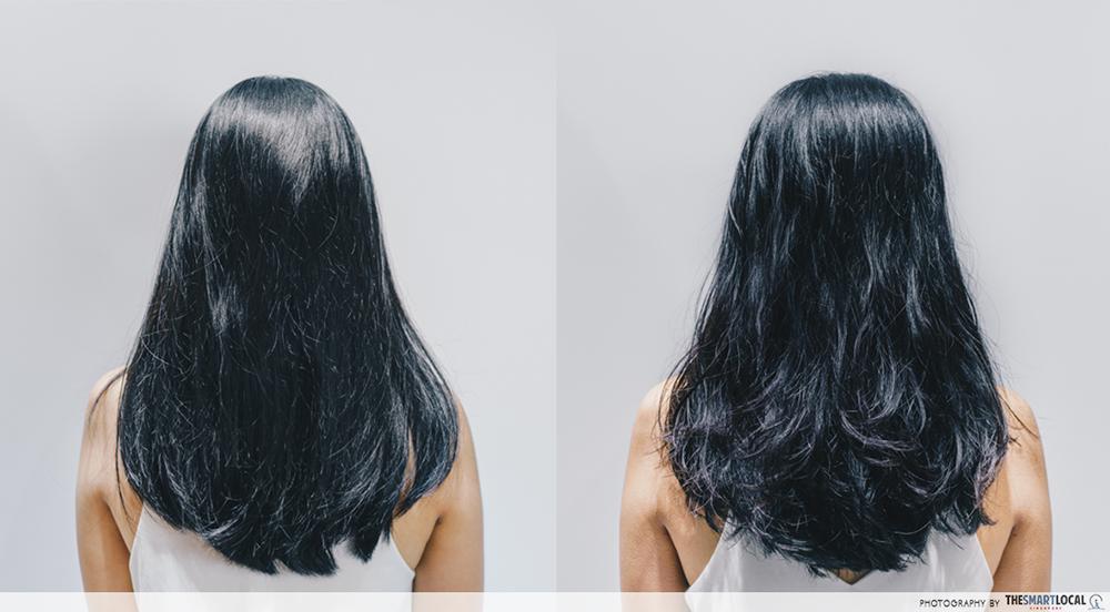 Hair Salon Tokyo Michaela Singapore Perm Before After