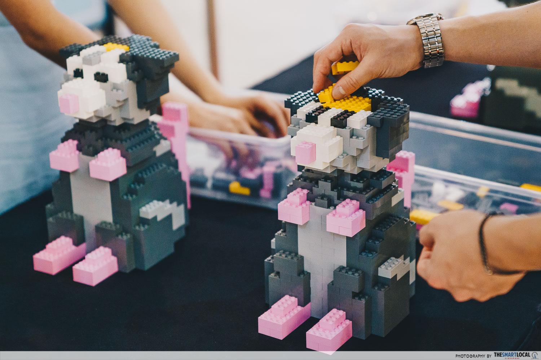 Jem's CNY 2020 - Rat LEGO