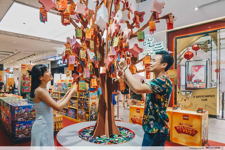 Jem's CNY 2020 - wishing tree