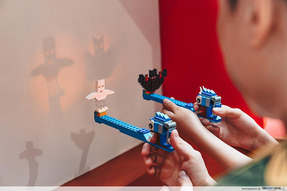 Jem's CNY 2020 - LEGO shadow play