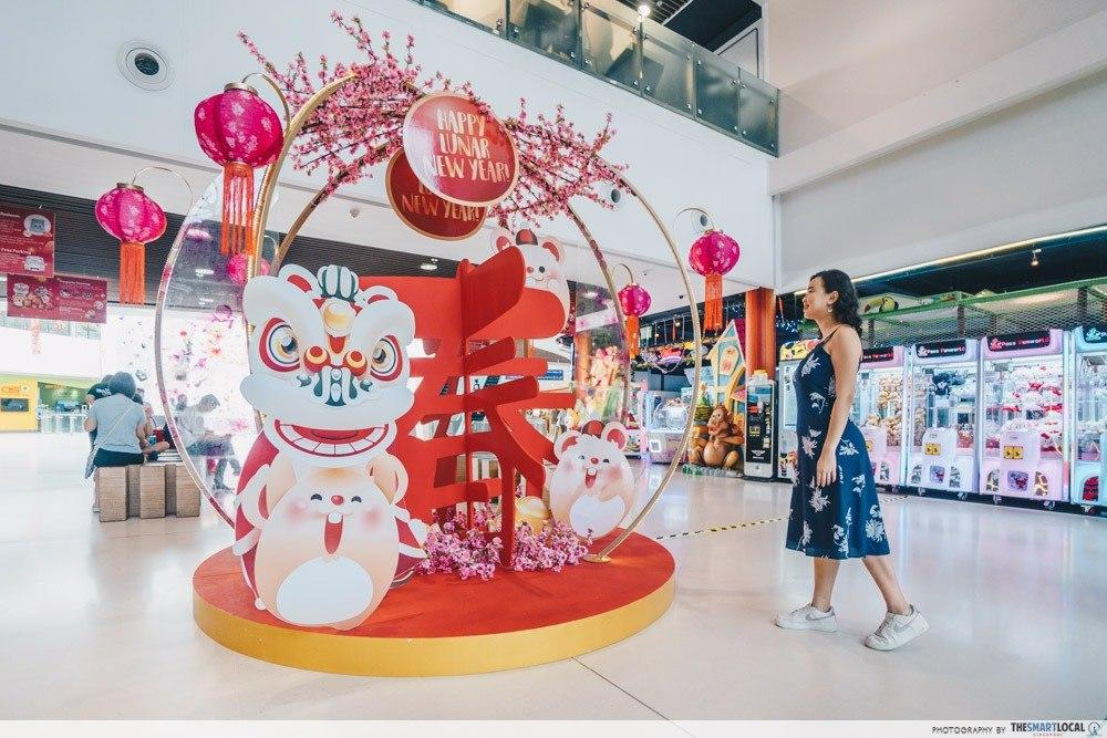 Kallang Wave Mall Chinese New Year 2020 Photo Ops