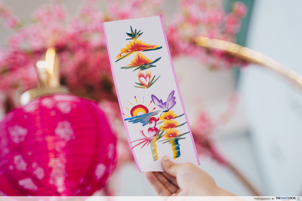 Kallang Wave Mall Chinese New Year 2020 Rainbow Calligraphy