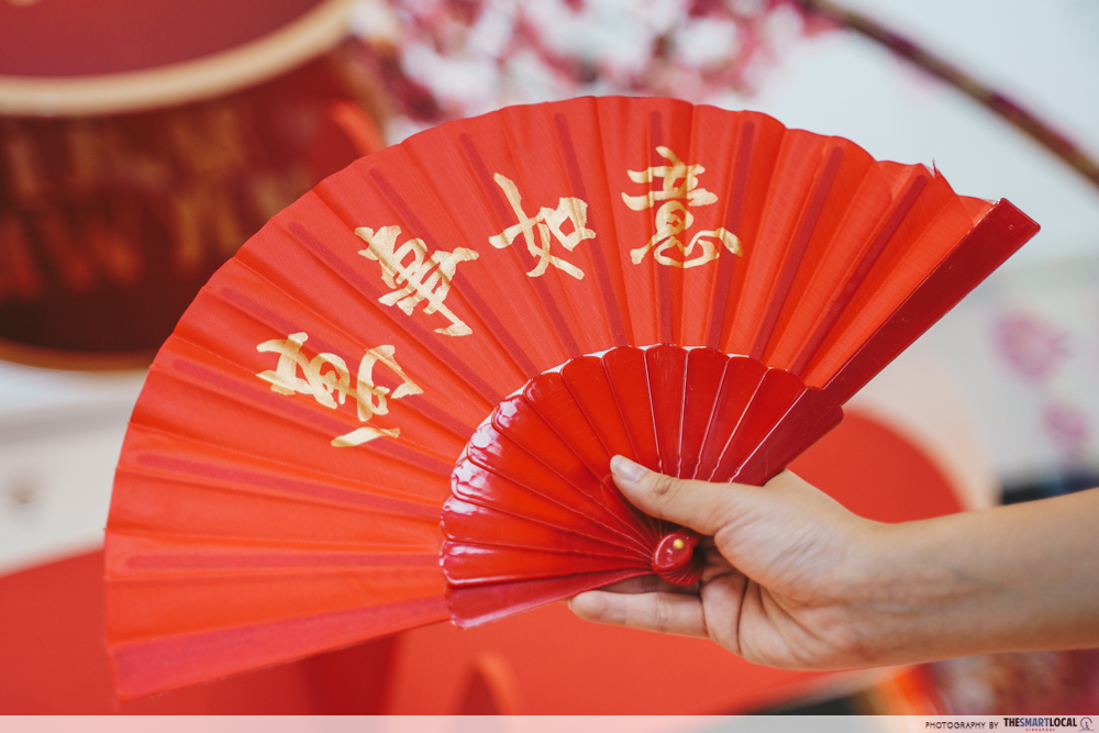 Kallang Wave Mall Chinese New Year 2020 Calligraphy Fans