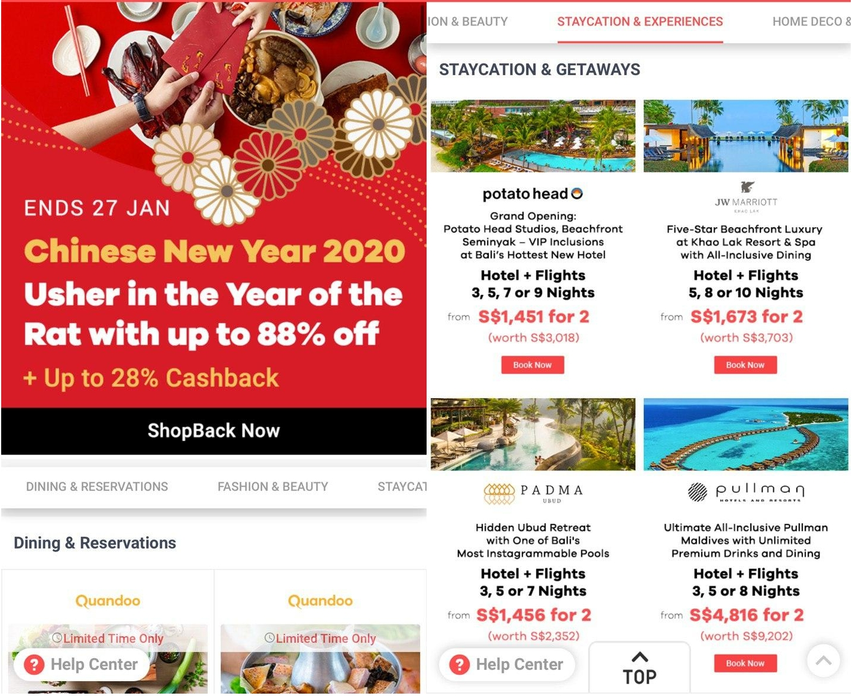 ShopBack CNY 2020