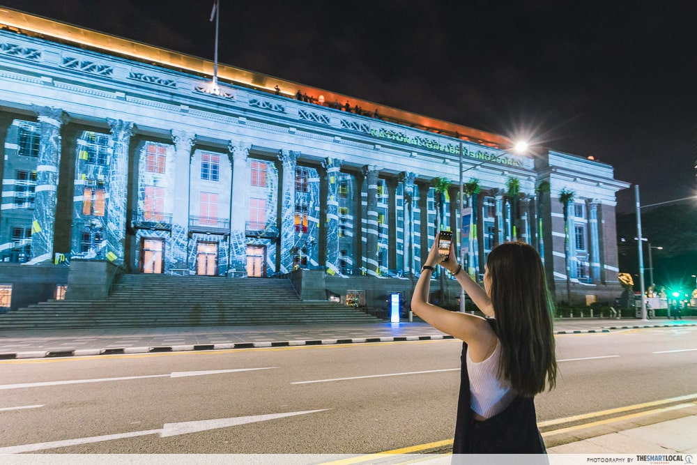 Customisable Projections Light To Night Festival 2020