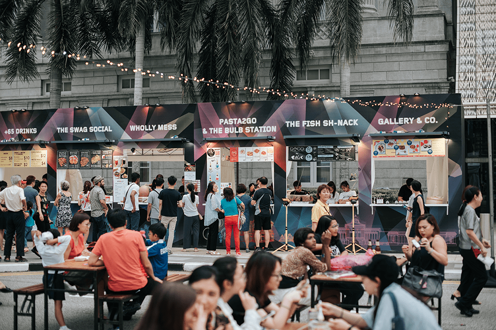 Light To Night Festival 2020 Art Social Street Food