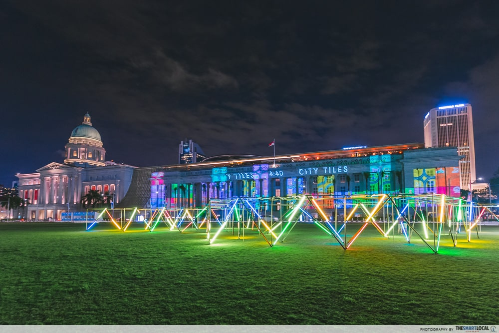 Light To Night Festival 2020 Optical Maze