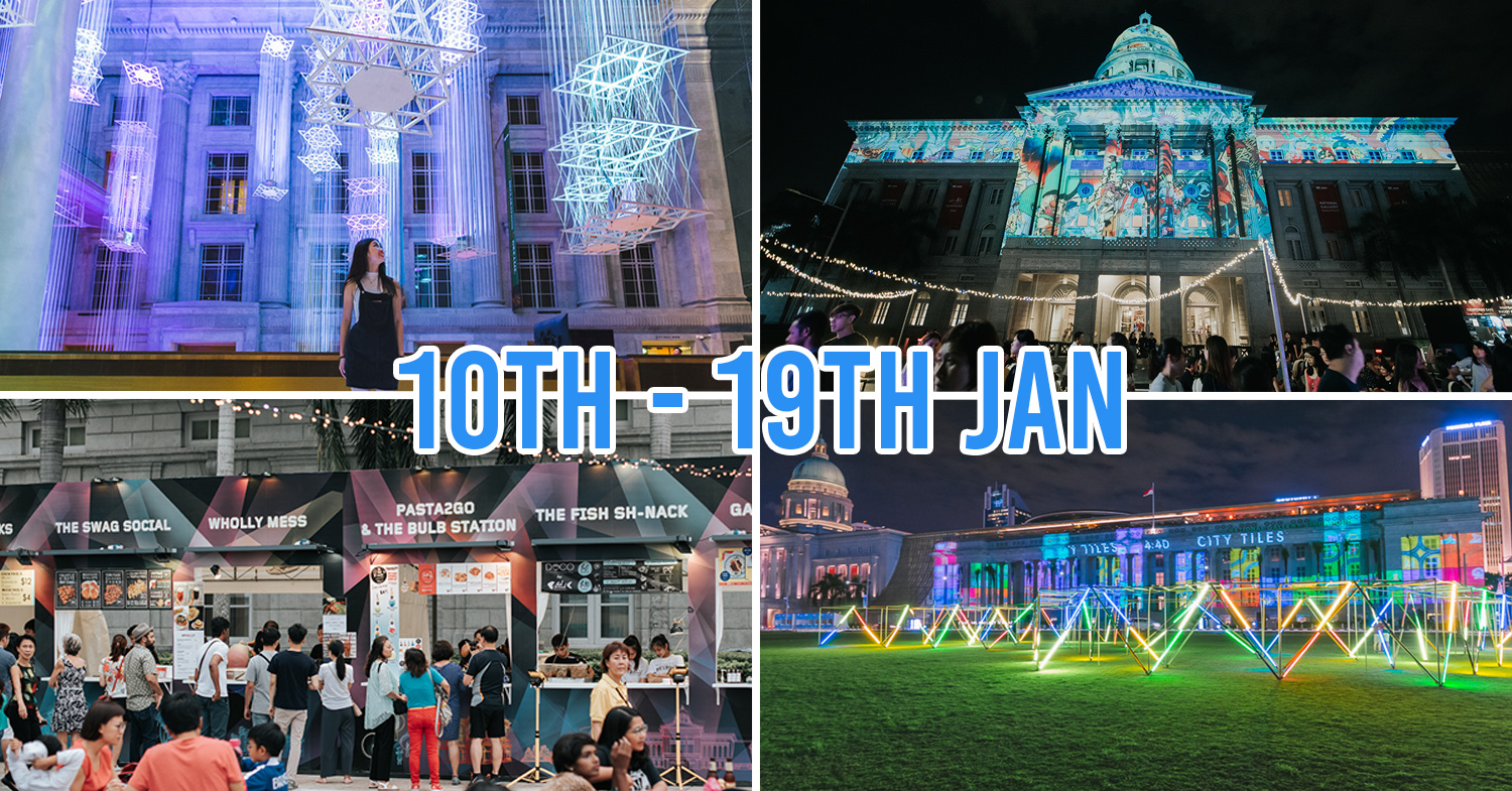 Light To Night Festival Singapore 2020 Civic District Guide