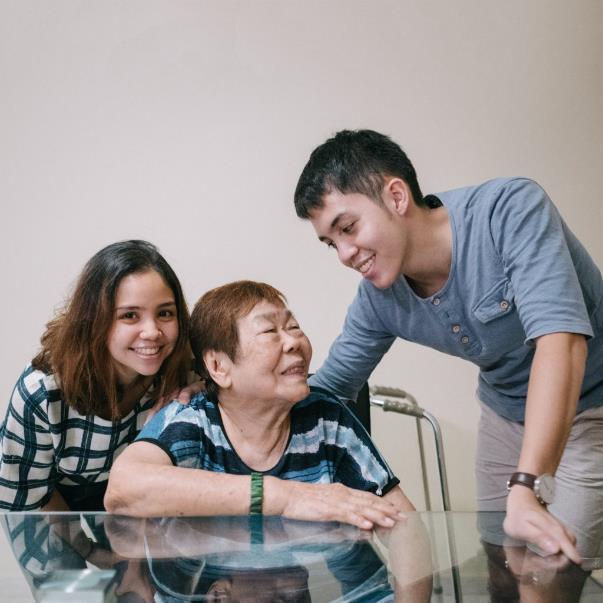 moral support for elders
