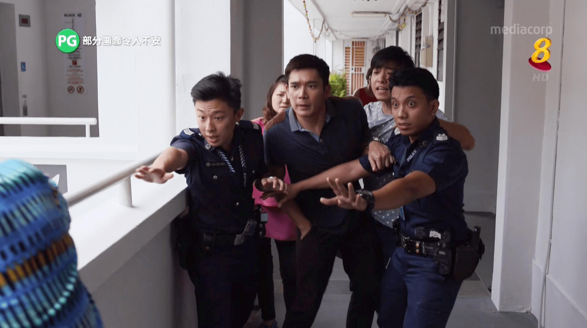 Mediacorp C.L.I.F Police TV Drama