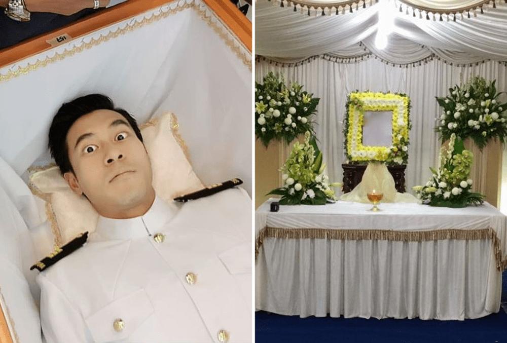 Mediacorp Secrets Singapore Industry Insider Funeral Scenes