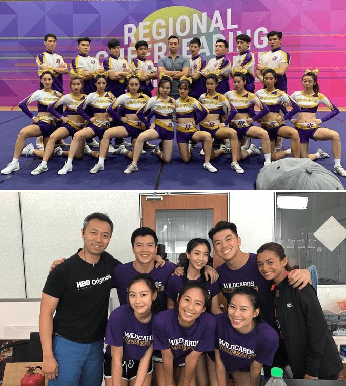 Mediacorp Secrets Singapore Industry Insider Cheerleading Cast