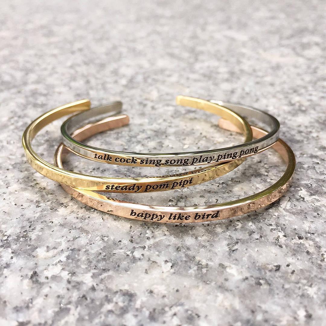 singlish bracelet