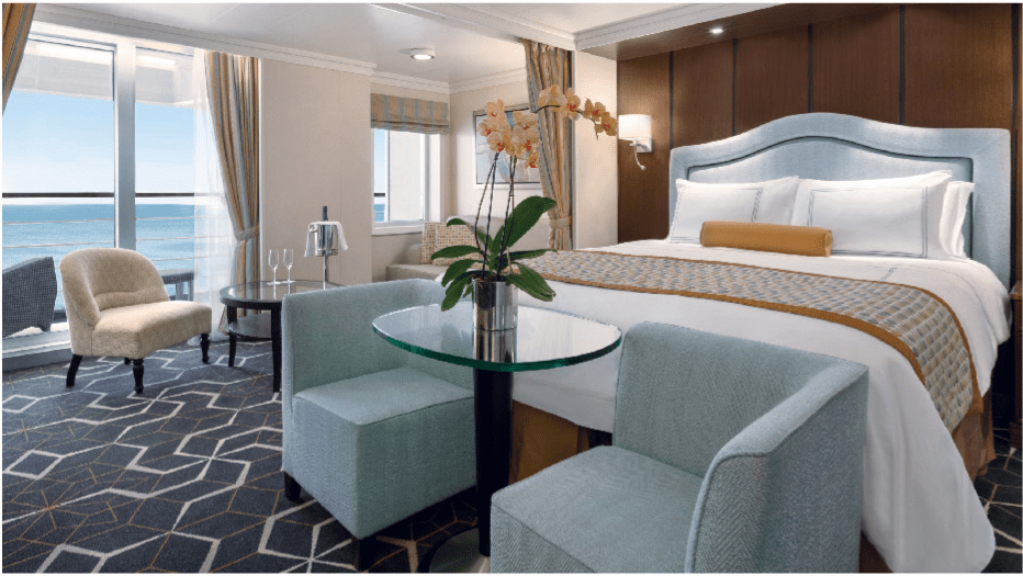 Oceania cruises stateroom