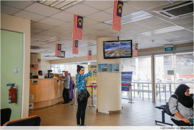 Singapore Johor Bahru Woodlands KTM Railway