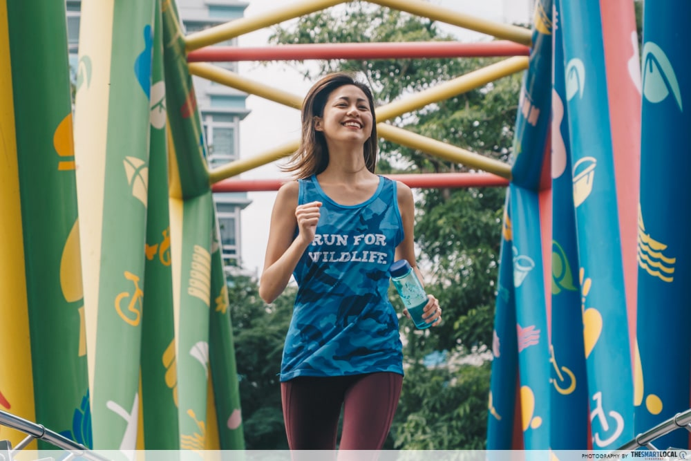 Safari Zoo Run 2020 Singapore Free Runners Apparel