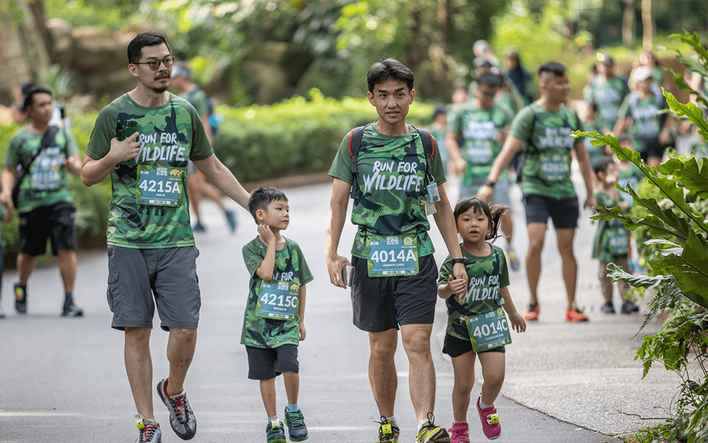 Safari Zoo Run 2020 Singapore Family Kids