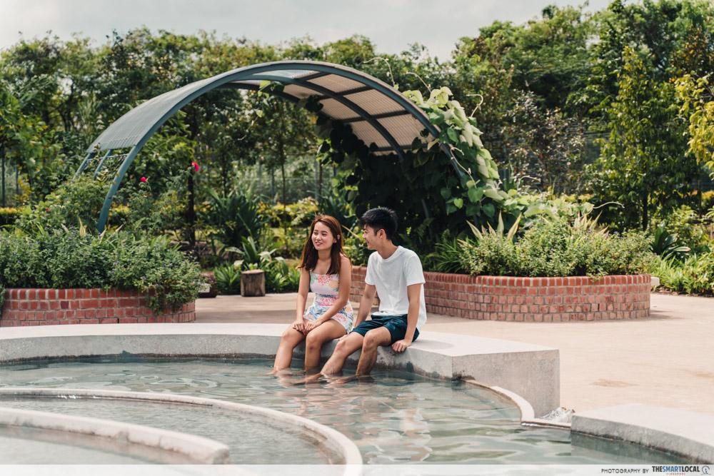 Sembawang Hot Spring Park Singapore Foot Spa