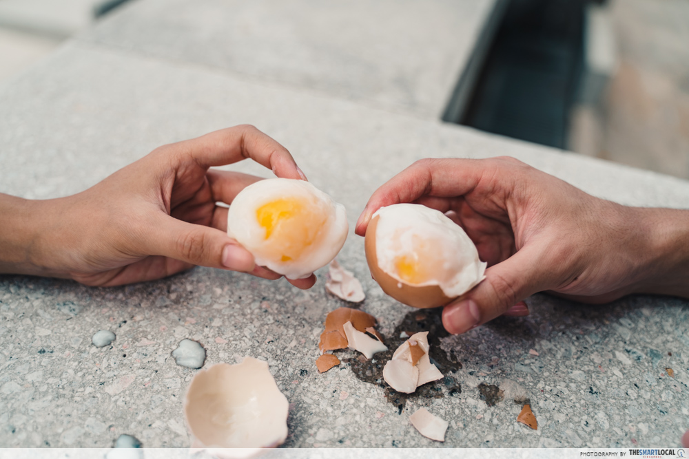 Sembawang Hot Spring Park Singapore Cook Your Own Eggs