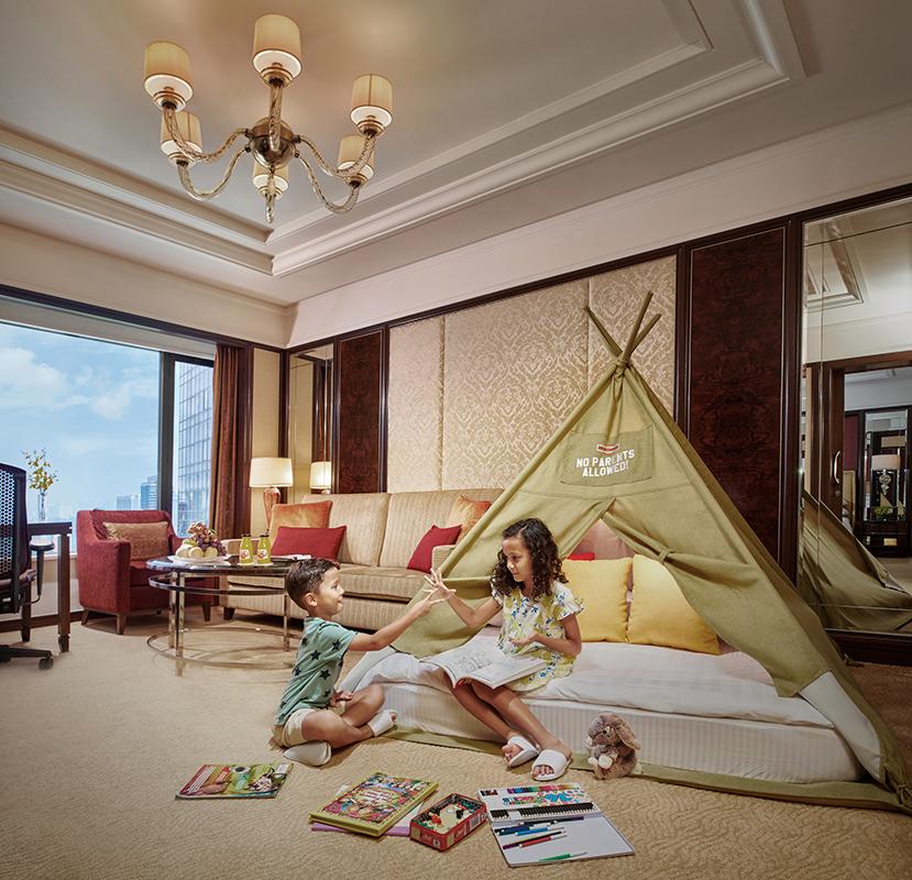 Kids Teepee Tent Shangri-La Hotel Kuala Lumpur Malaysia