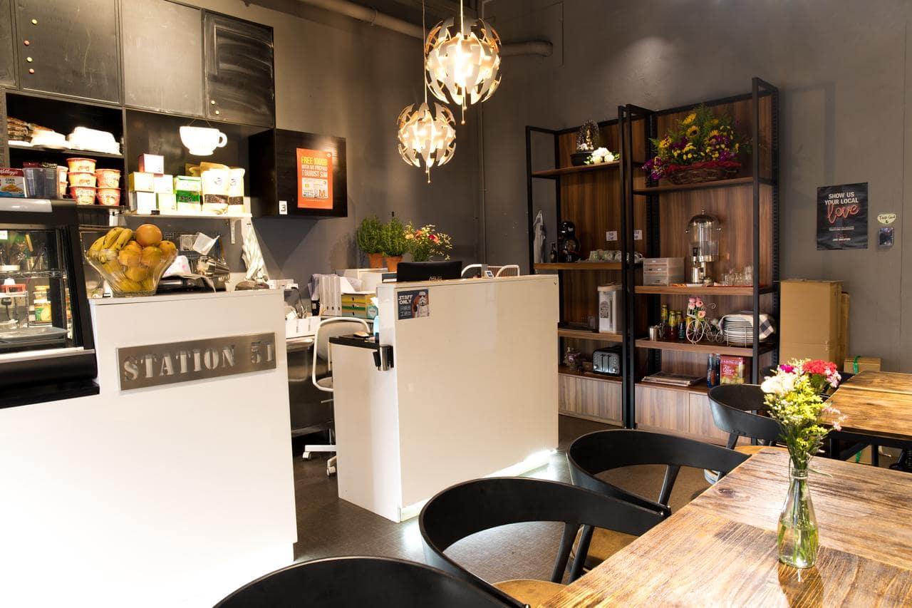 The Atlas Station Breakfast Area