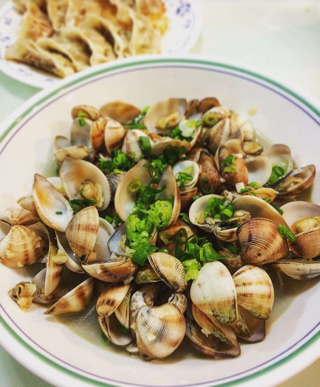 clamming lantau island food