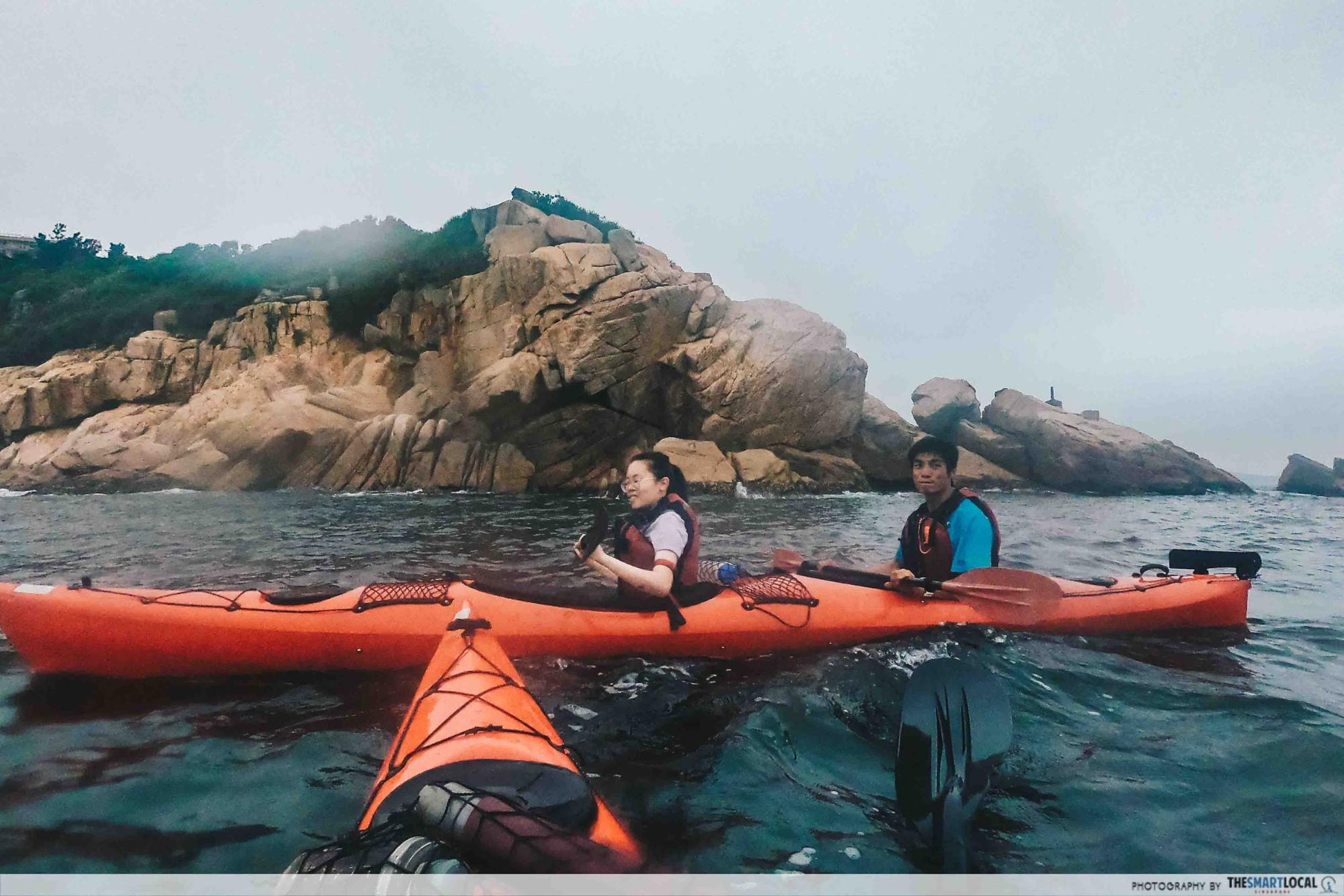 cheung chau kayaking