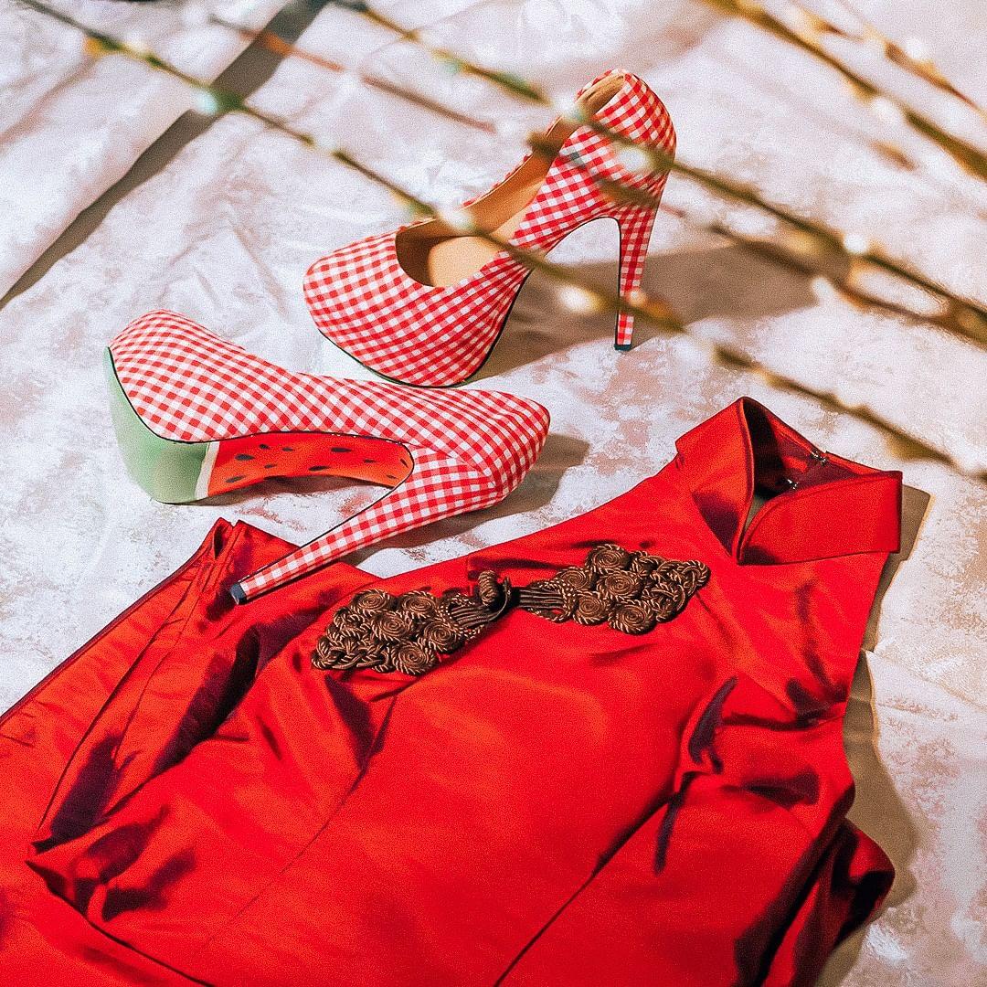 Chinese New Year fashion swap