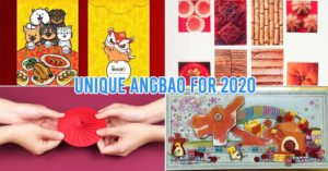 Unique red packets Singapore Chinese New Year 2020