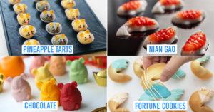 Quirky CNY snacks 2020 Singapore