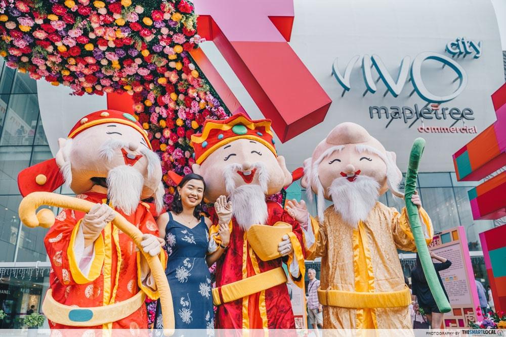 VivoCity Chinese New Year 2020 SIngapore HarbourFront