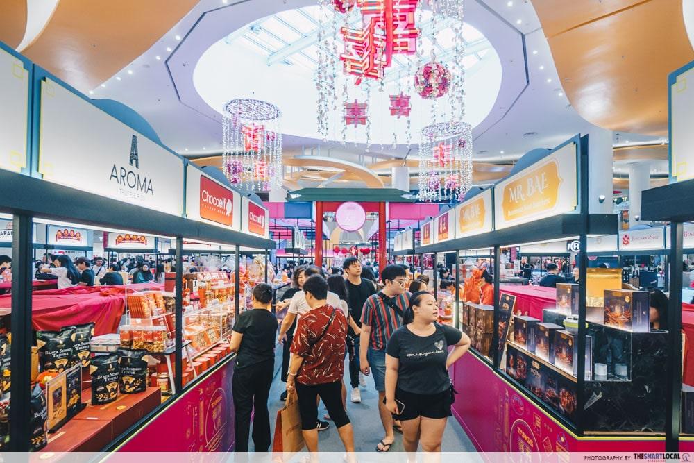 VivoCity Chinese New Year 2020 TANGS Fair