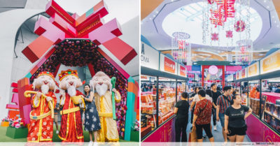 Vivocity Chinese New Year Singapore 2020