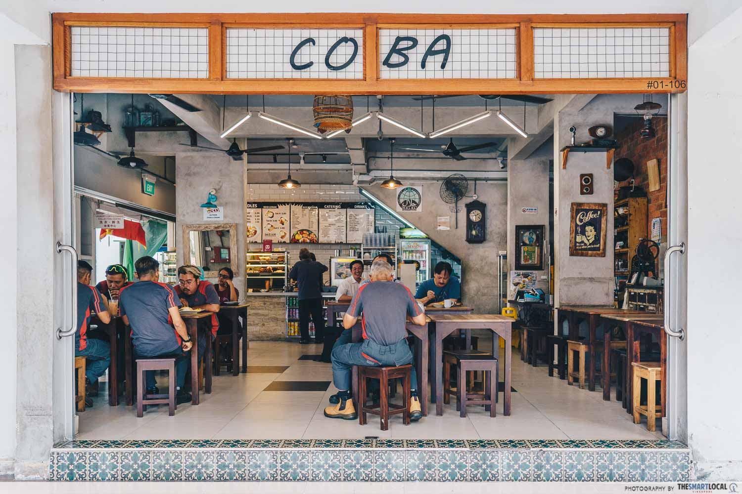halal cafes north singapore coba coba