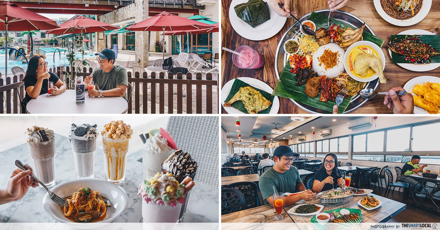 halal cafes north singapore