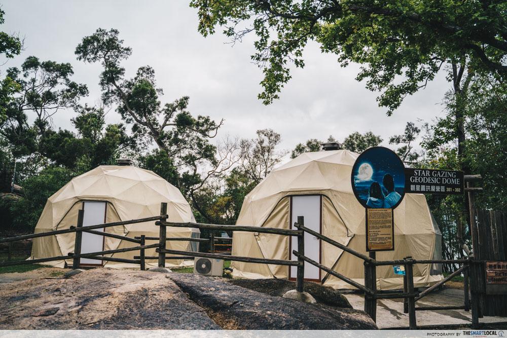 Sai Yuen Farm glamping domes