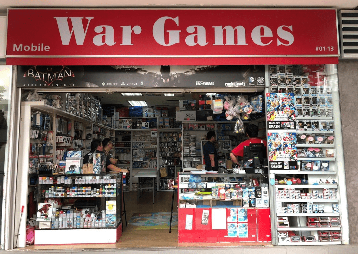 War Games shop