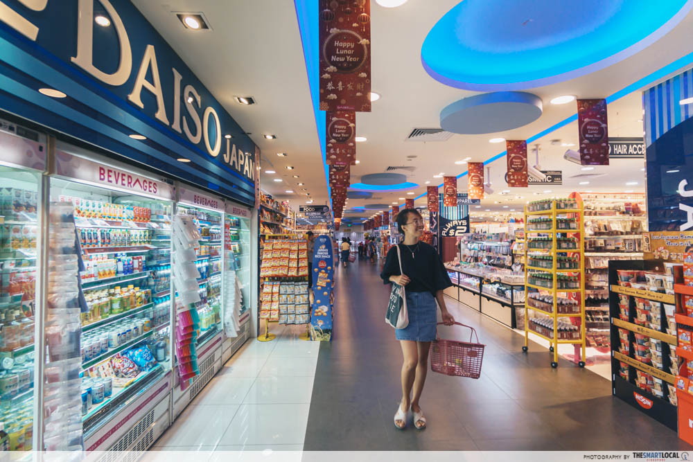 Budget shopping in Singapore Daiso Singapore