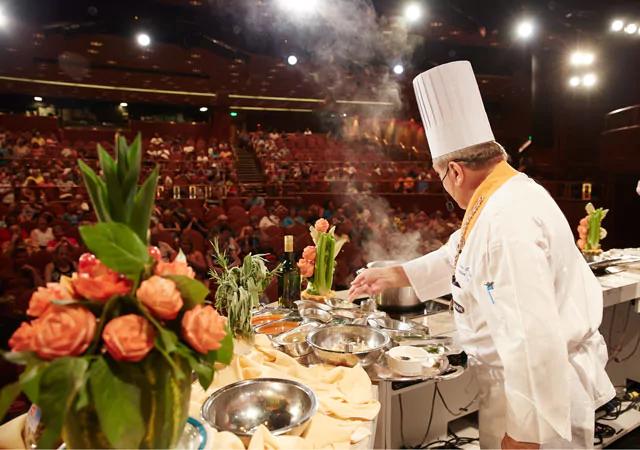 Princess Cruises Culinary Demo