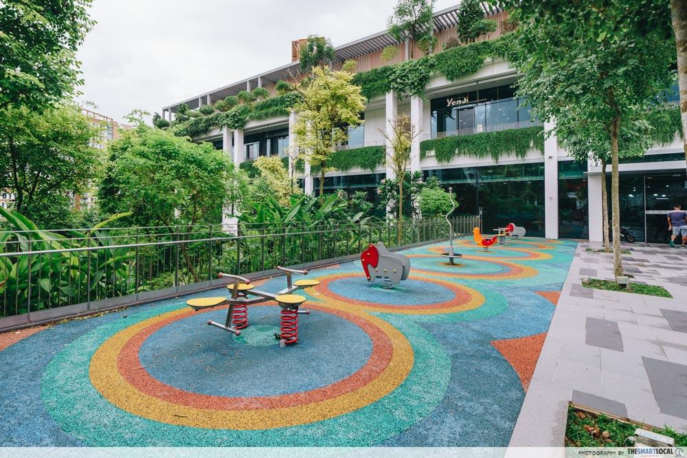 Oasis Terraces rainbow playground