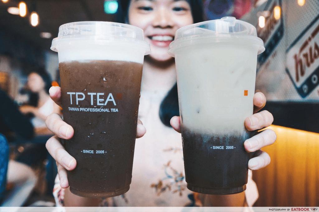 Tea Latte at TP Tea - january 2020 deals