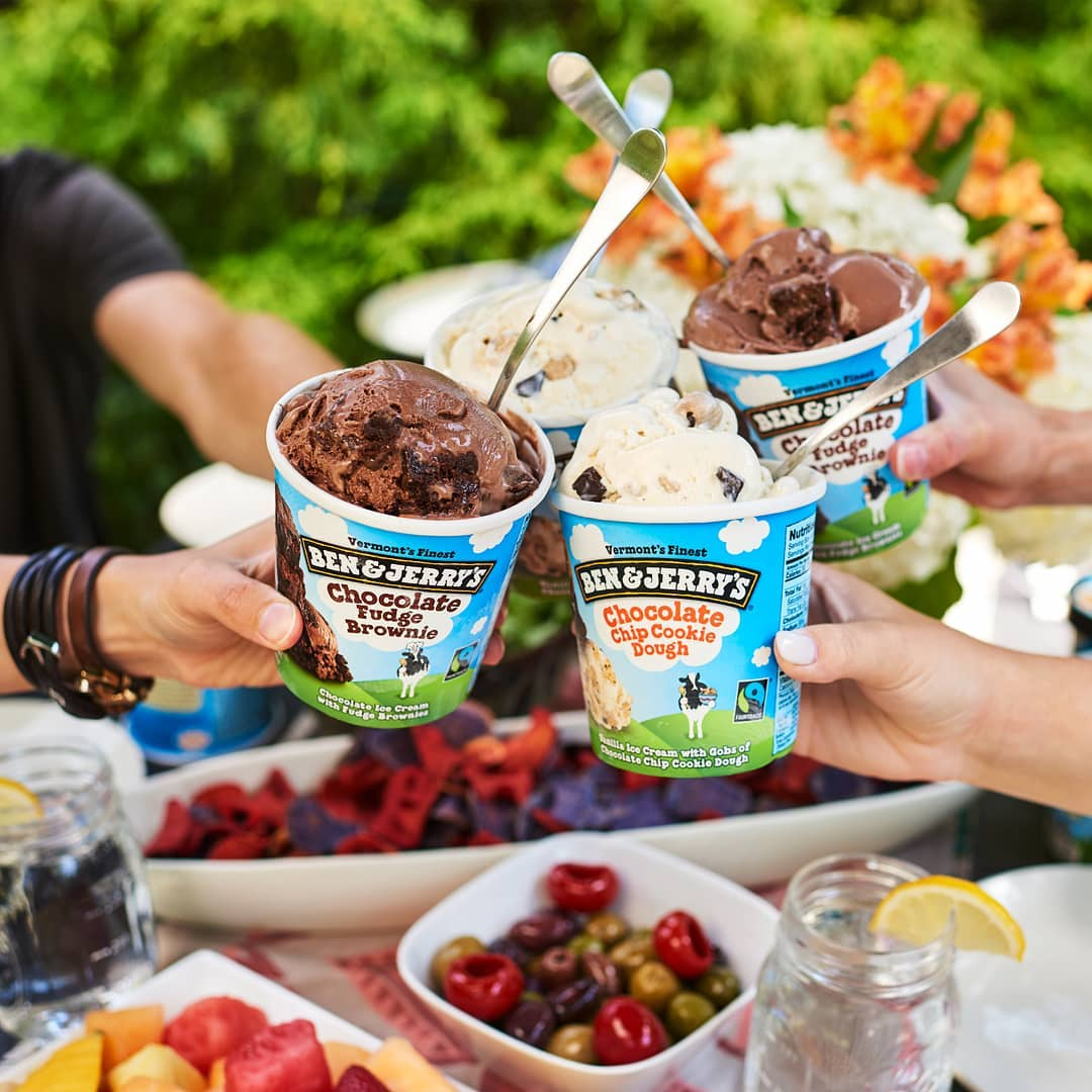 $19.90 for 2 tubs of Ben & Jerry's ice cream