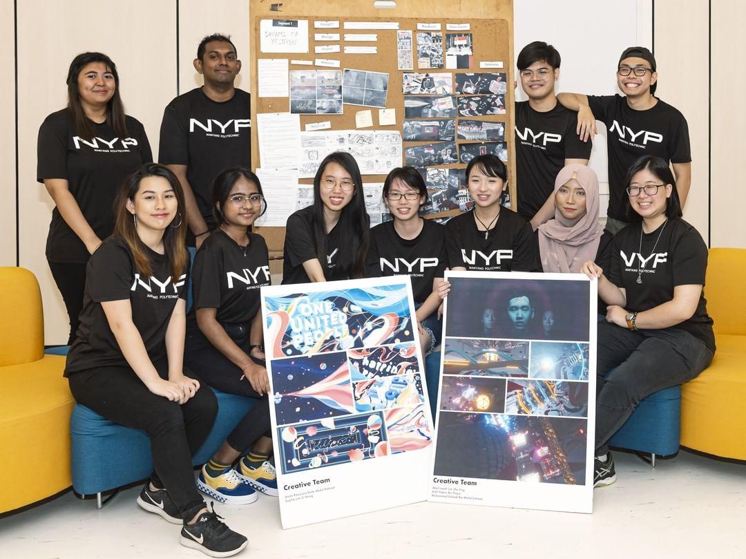 polytechnic to local university - nyp students group presentation