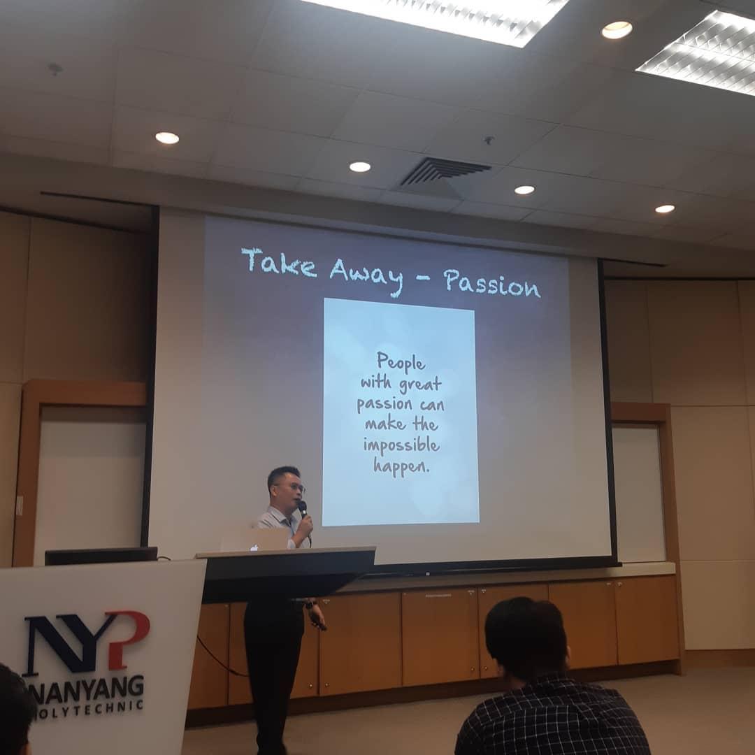 polytechnic to local university - nanyang polytechnic lecture