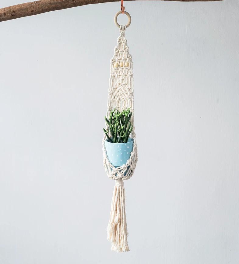 Tumbleweed Plants macrame hanger
