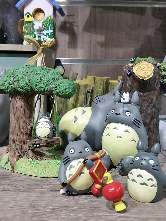 A Tilly A Day totoro figurines