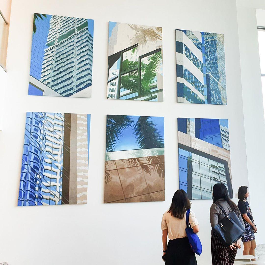 singapore art week 2020 - artwork at singapore chinese cultural centre