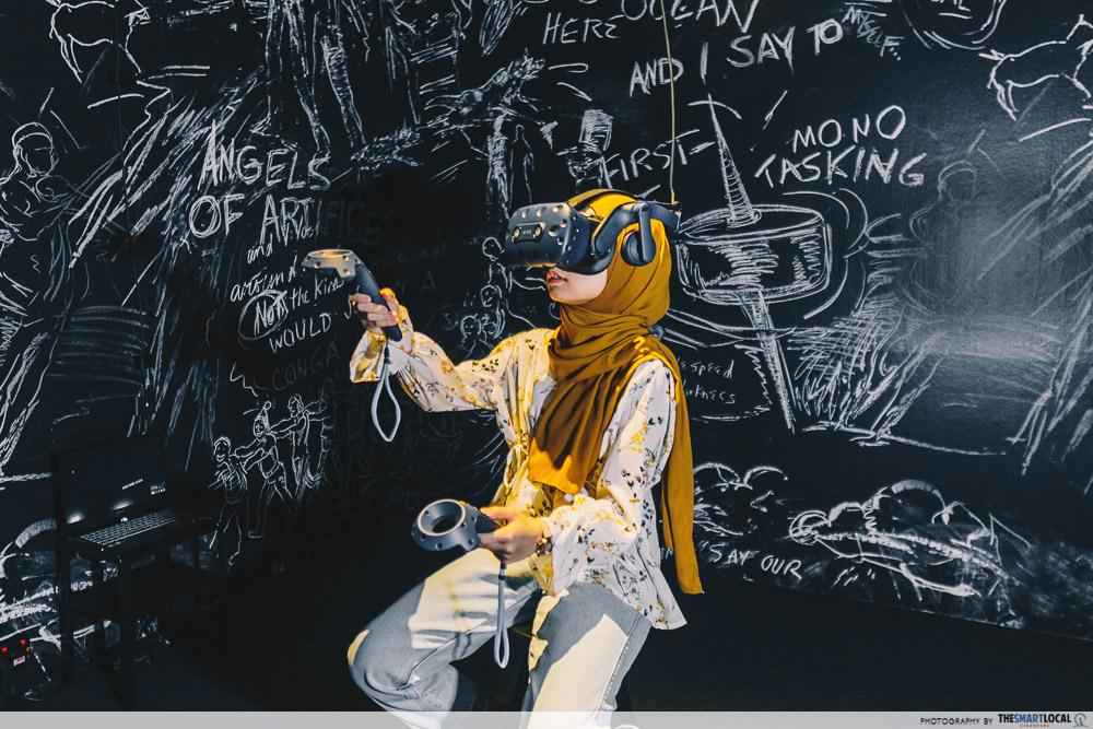 singapore art week 2020 - singapore biennale vr at smu gallery